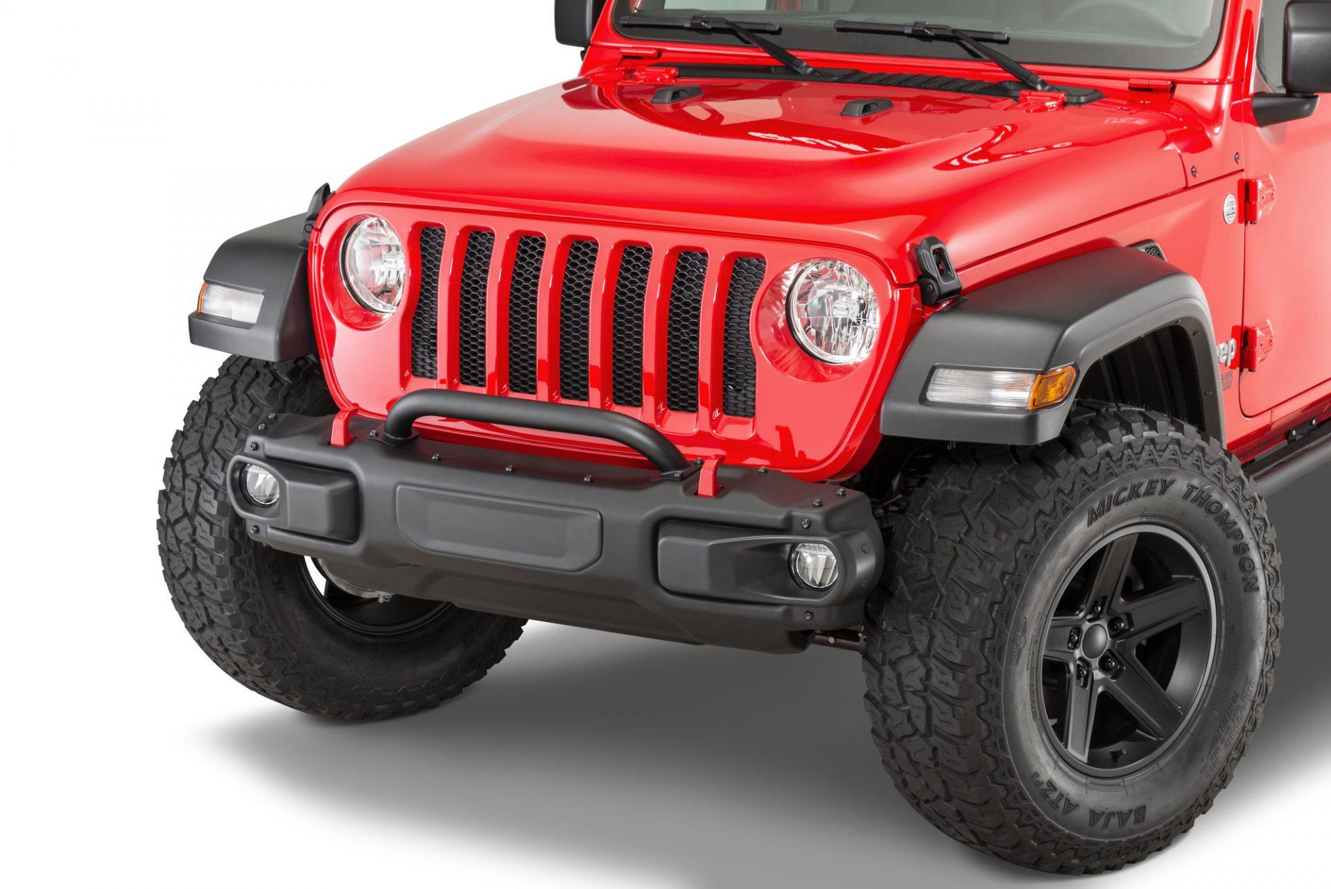 Homologation Frontstossstangen Jeep