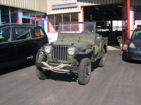 JEEP Willys CJ-2A