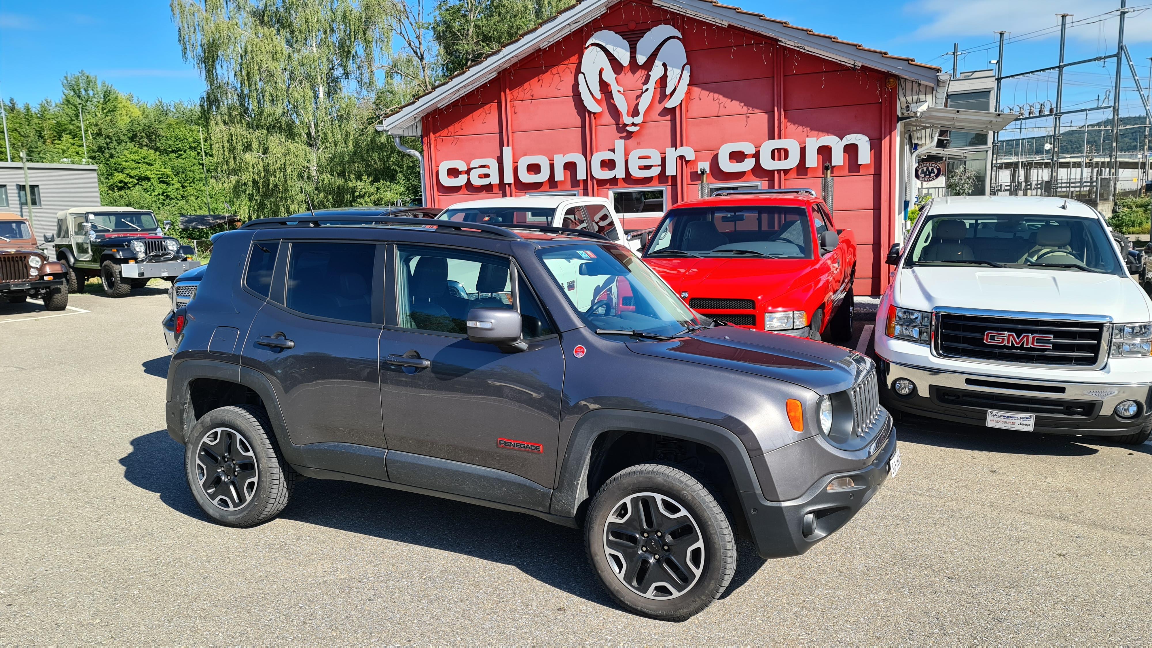 Umbau Jeep Renegade Trailhawk