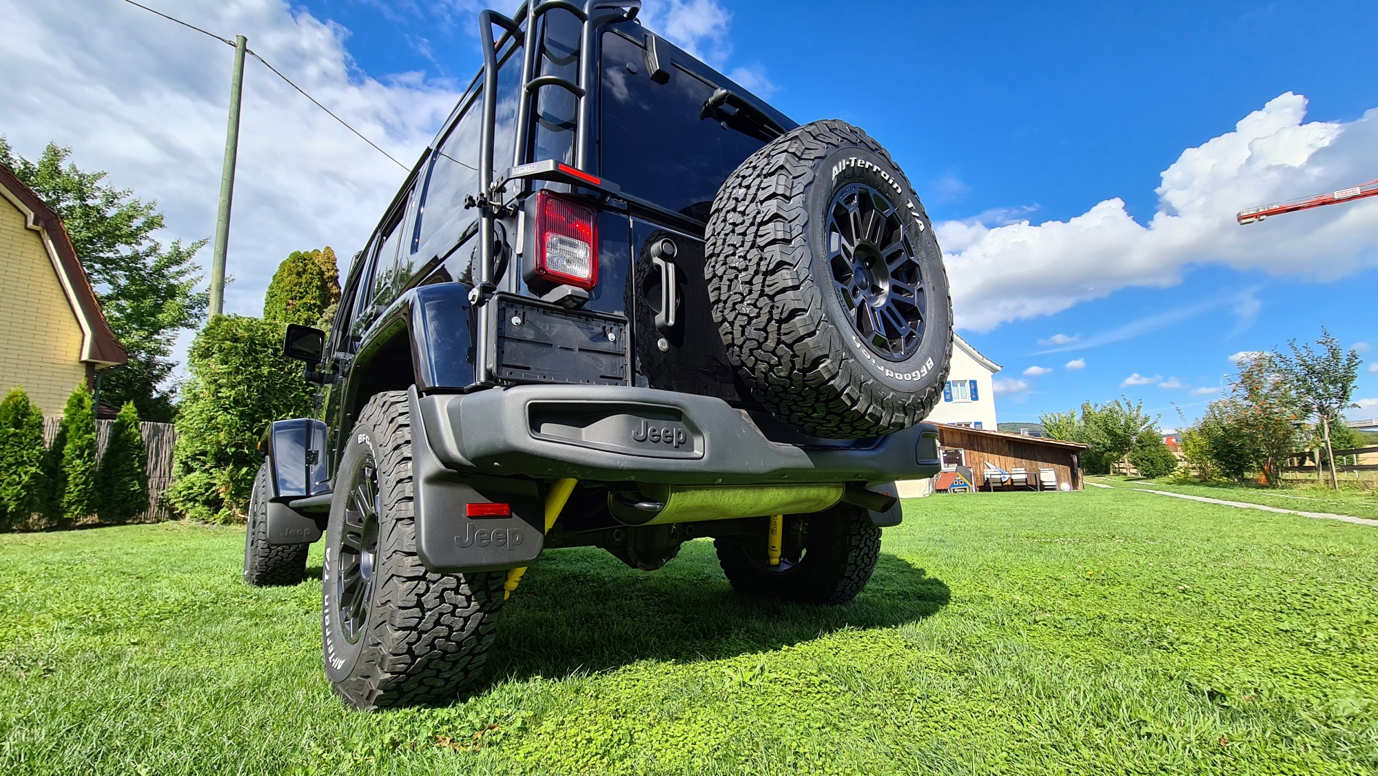 Umbau Wrangler JKU Golden Eagle