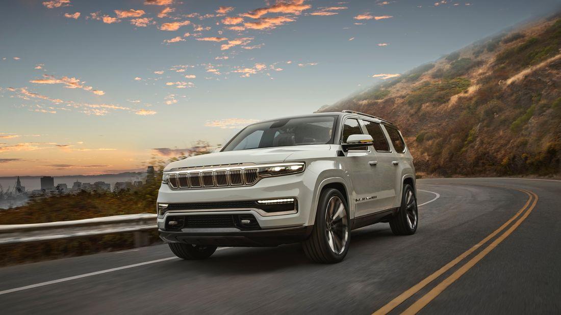 Grand Wagoneer 2021 - New Fullsize Premium SUV von Jeep
