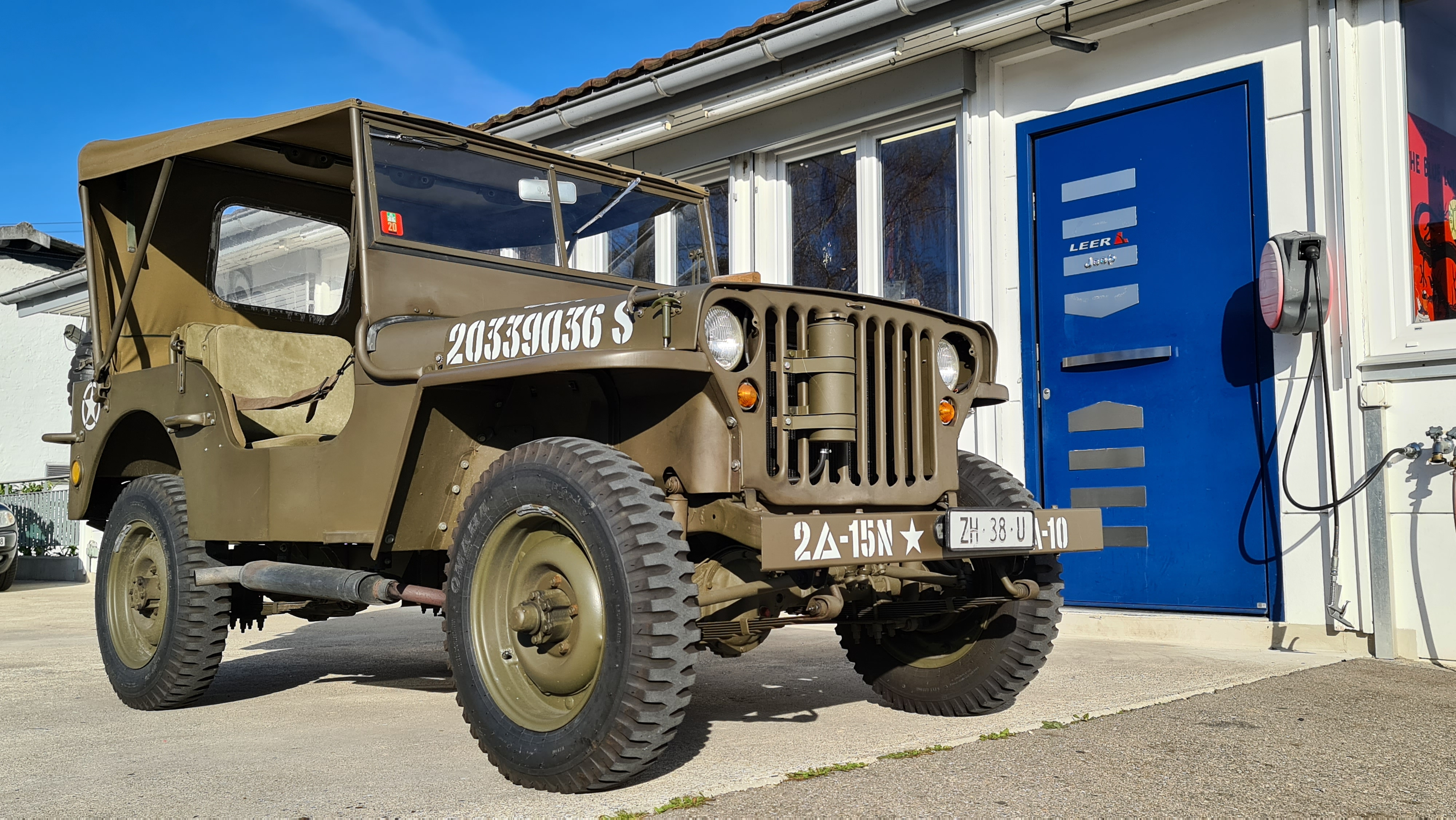 WW II Willys MB