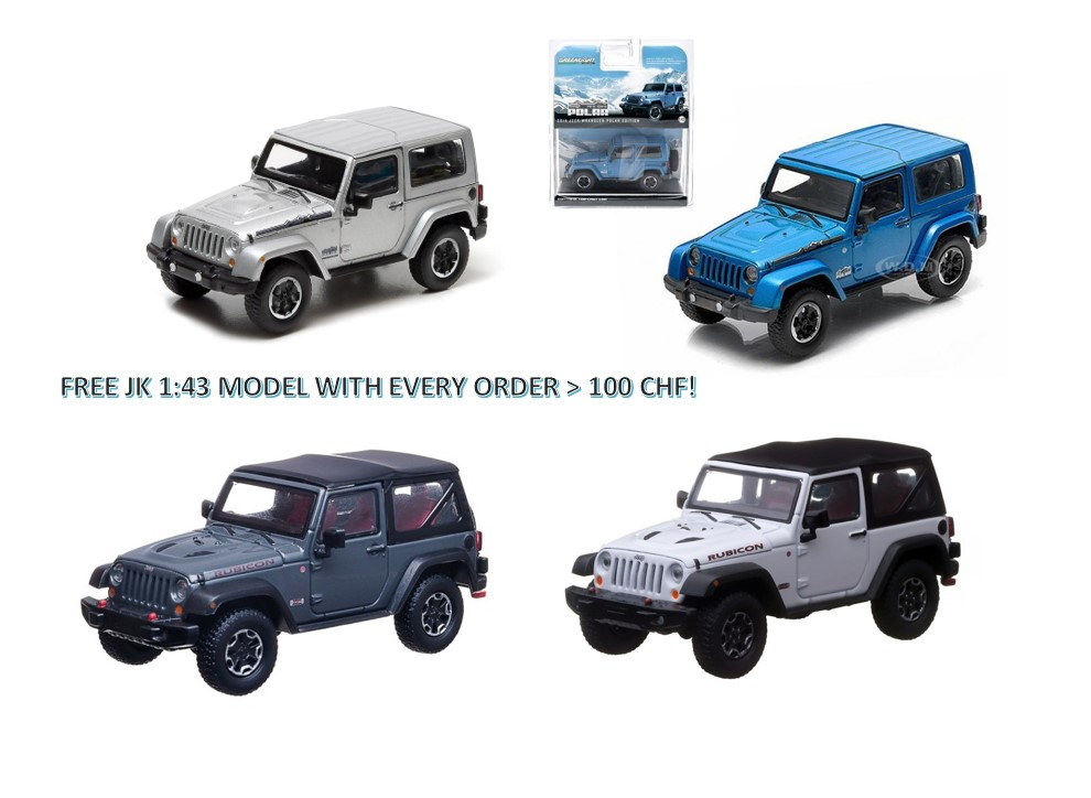 Wrangler JK Model-Car Promo!