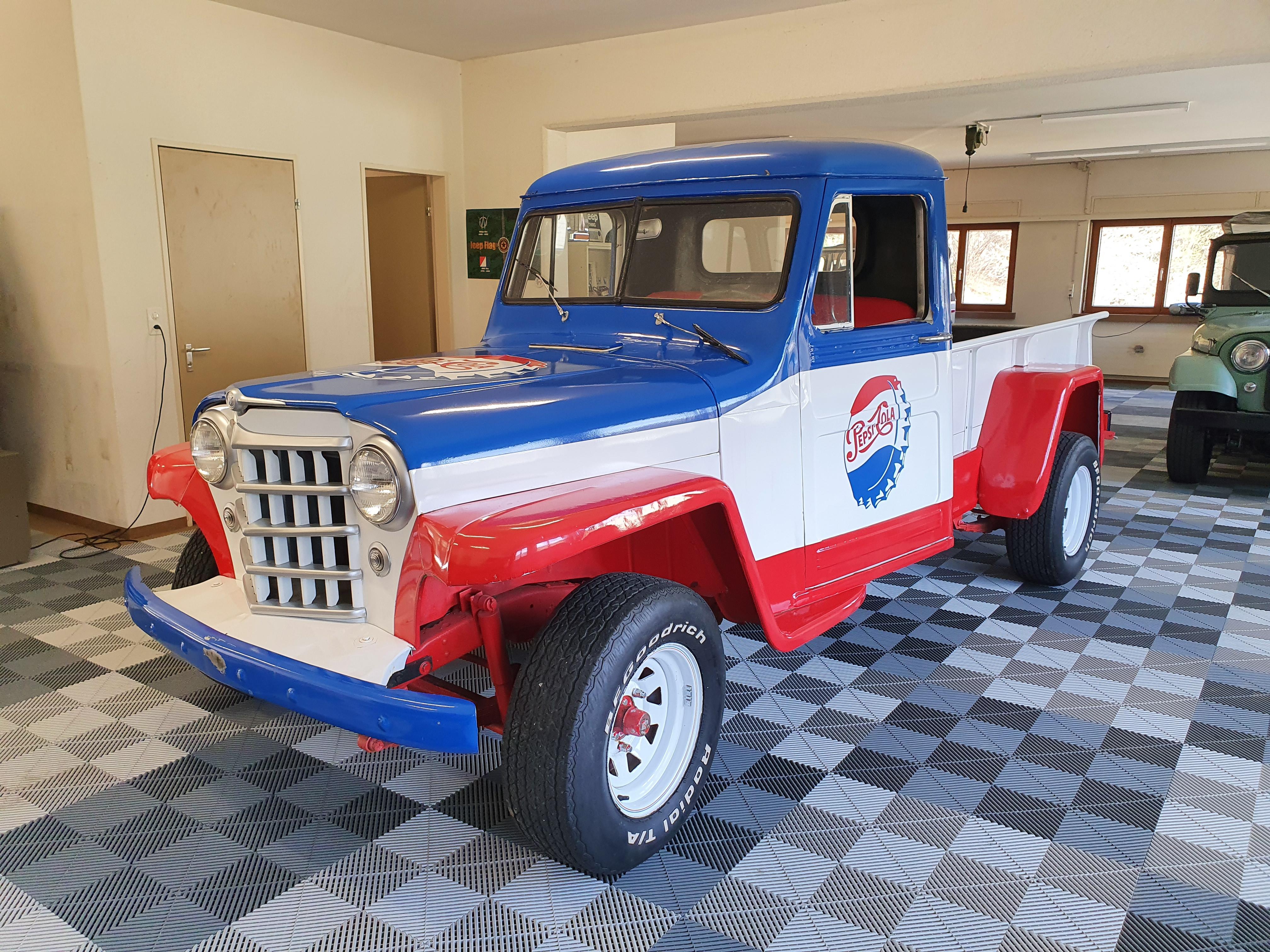 Willys Pepsi Truck