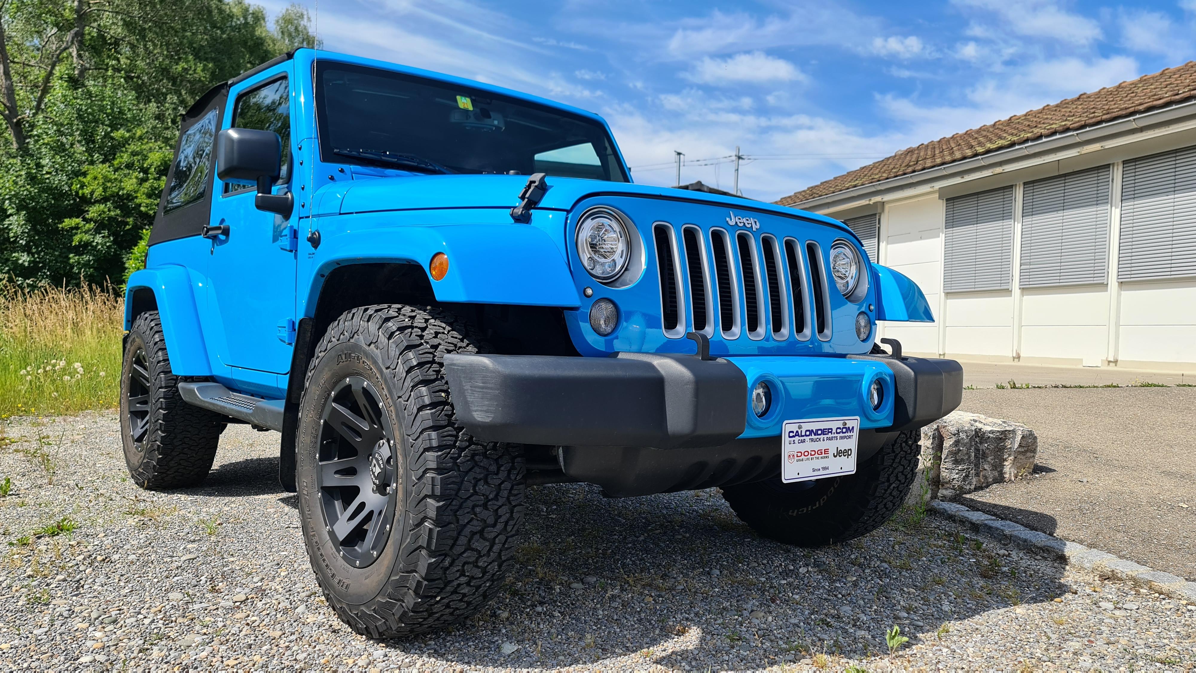 Jeep Wrangler JK Sahara CHIEF BLUE