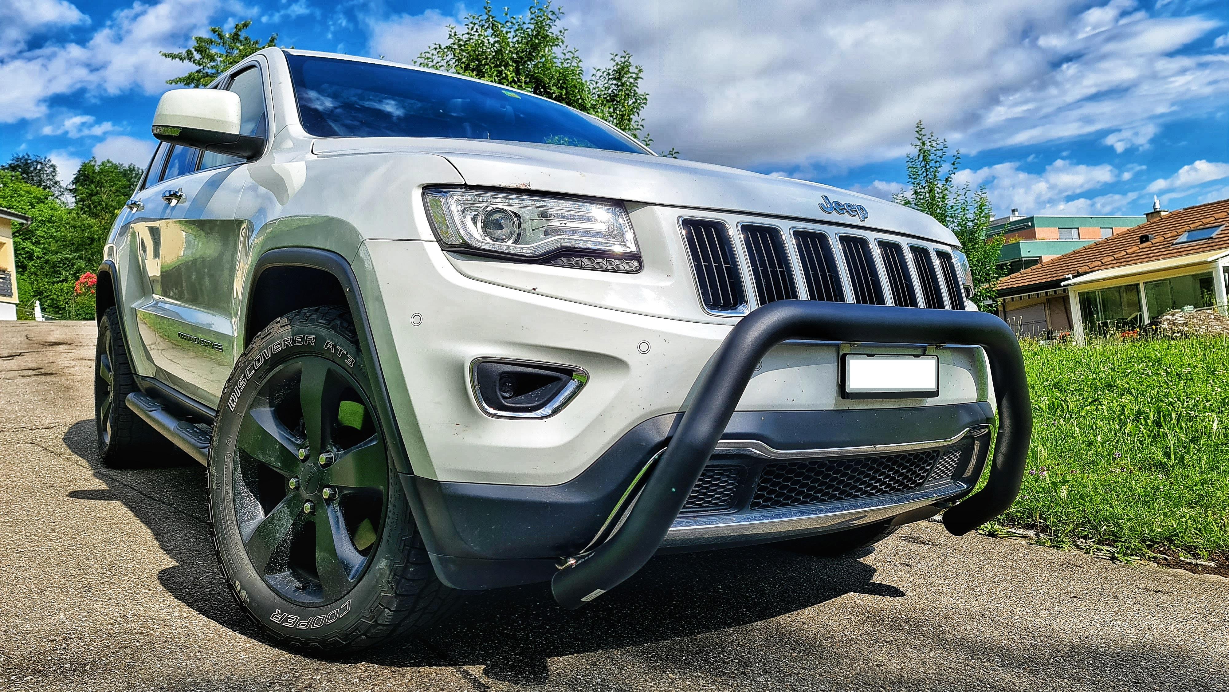 Umbau Jeep Grand Cherokee WK2