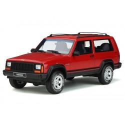 "Modellauto Jeep Cherokee ""Sport"" rot 1:18"