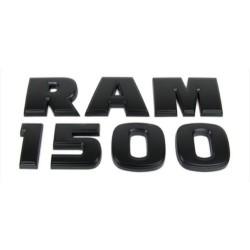 RAM 1500 Heavyduty Emblem -Set mattschwarz