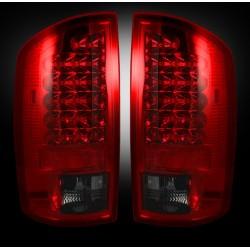 Heckleuchten rot-rauchglas Recon
