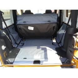 Cargo-Liner by Canvasback, personalisierbar, Wrangler JK 2-Door