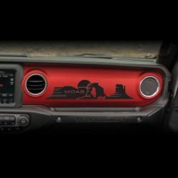 """Sticker """"MOAB"""" für Dashboard Wrangler JL"""