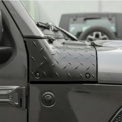 Hood-Protector Kit schwarz Wrangler JL / Gladiator