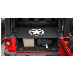 Sichtschutz für Kofferraum mit Army-Star