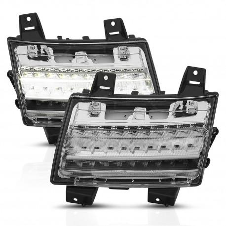 "LED Tagfahrleuchten mit Dynamic Blinker ""clear"" Anzo"
