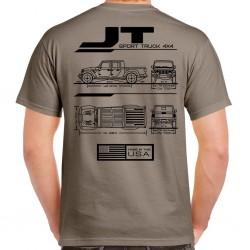 Gladiator JT Blueprint T-Shirt
