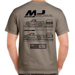 Comanche Blueprint T-Shirt