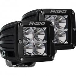 LED-Zusatzscheinwerfer Set mit E-Prüfzeichen Rigid