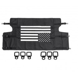 Sichtschutz für Kofferraum mit US-Flagge