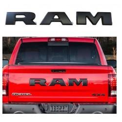 RAM Emblem gross in schwarz matt