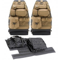 Sitzbezug- und Tailgate-Cover Combo-Package mit Molle® System Smittybilt