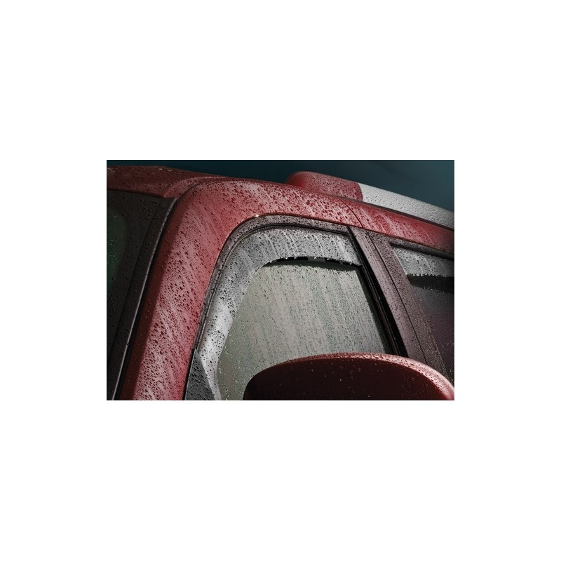 Windabweiser rauchglas für Seitenfenster vorne & hinten Weathertech ...