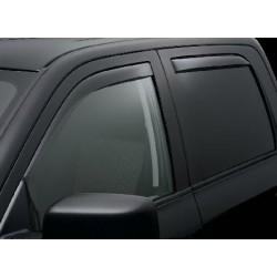 Windabweiser rauchglas für Seitenfenster vorne & hinten Weathertech Quad-Cab