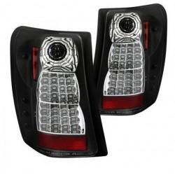 LED Heckleuchten schwarz / chrom Variante 1 Spyder Automotive