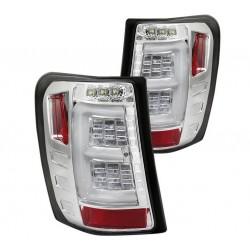 "Vol-LED Heckleuchten chrom ""Fiber Optic"" Spyder Automotive"