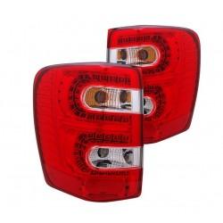 LED Heckleuchten rot / chrom CG