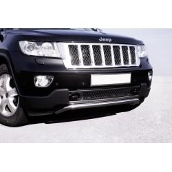 Frontschürzen-Rohr chrom Jeep Grand Cherokee (WK1) mit E-Prüfzeichen