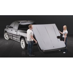 Hard Tonneau-Cover Undercover Quad- / Regular-Cab Wagenfarbe