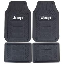Gummimatten-Satz mit Jeep-Logo Plasticolor