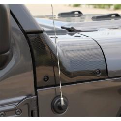 Hood-Protector Kit Carbon Wrangler JL / Gladiator