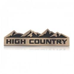 "Emblem ""High Country"" in verschiedenen Farben"