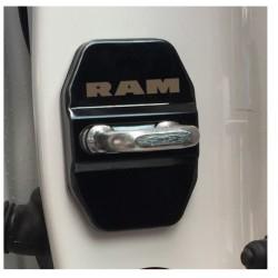 Scharnier-Blende schwarz mit RAM Logo