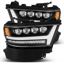 Voll-LED Scheinwerfer schwarz Alpharex RAM 1500