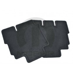 Fussmatten-Set hinten schwarz Mopar