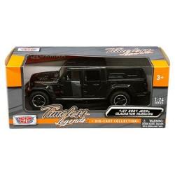 Modellauto Jeep Gladiator schwarz 1:27
