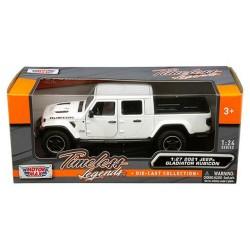 Modellauto Jeep Gladiator weiss 1:27