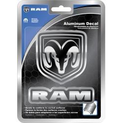 Aluminium RAM-Logo universal Plasticolor