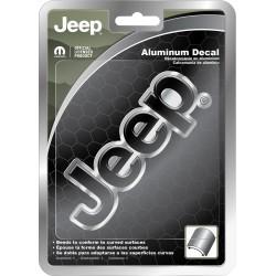 Aluminium Jeep-Logo universal Plasticolor