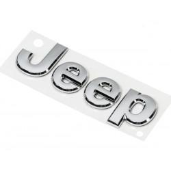 Jeep Emblem silber