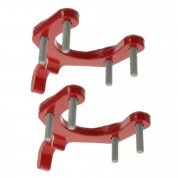 Tow-Hook Set rot lackiert Mopar