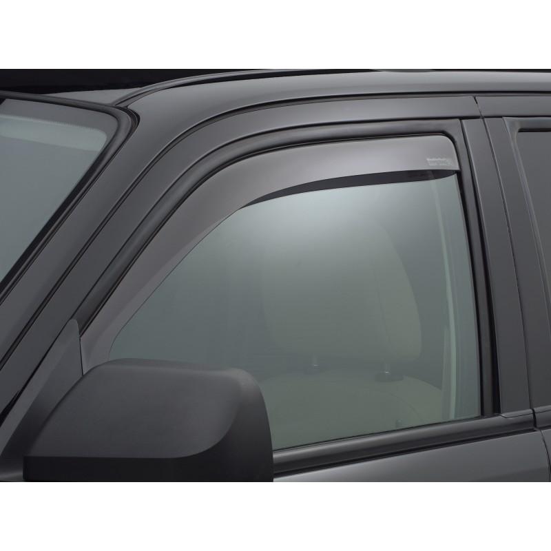 Windabweiser rauchglas für Seitenfenster vorne Weathertech Quad-Cab ...