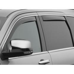 Windabweiser rauchglas für Seitenfenster vorne & hinten Weathertech Durango ab Jg. 11