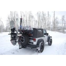 Ski-Rack für Reserveradträger