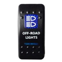 "Kippschalter ""Offroad Lights"" mit blauer Beleuchtung"