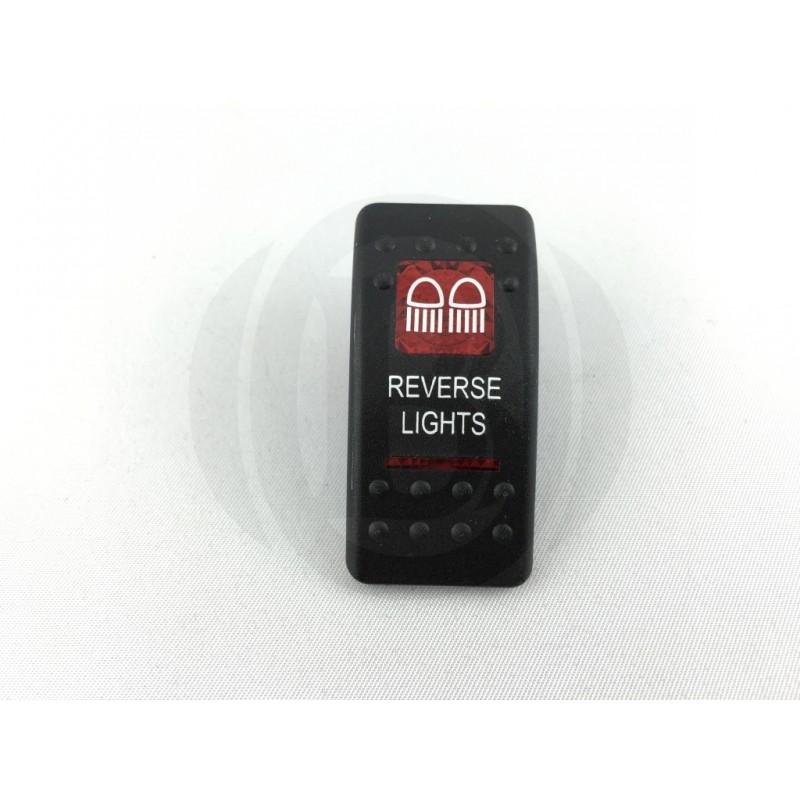 kippschalter reverse lights mit roter beleuchtung calonder online. Black Bedroom Furniture Sets. Home Design Ideas