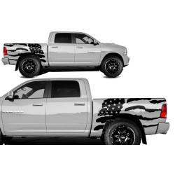 """Decal-Kit """"USA-Flag"""""""