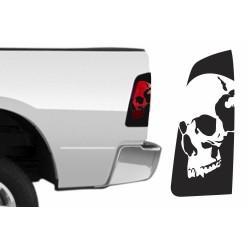 "Heckleuchten-Cover ""Skull"""